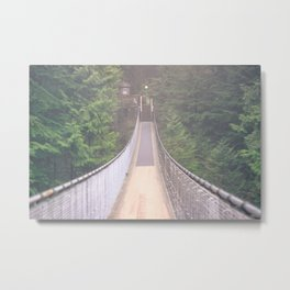 Capilano Bridge Metal Print