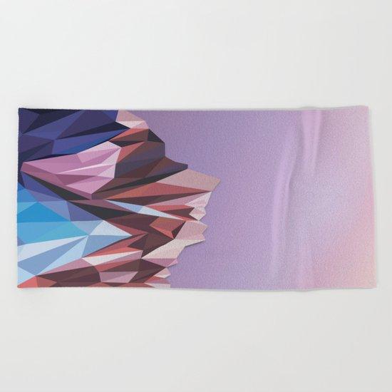 Night Mountains No. 41 Beach Towel