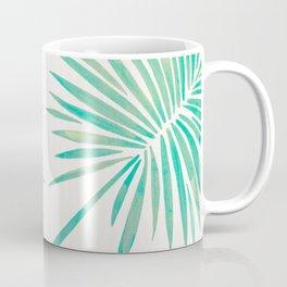 Tropical Fan Palm – Mint Palette Coffee Mug