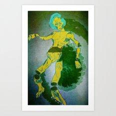 floating on air Art Print