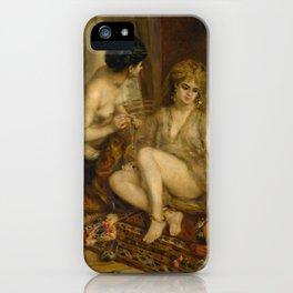 """Auguste Renoir """"Parisiennes in Algerian Costume or Harem"""" iPhone Case"""
