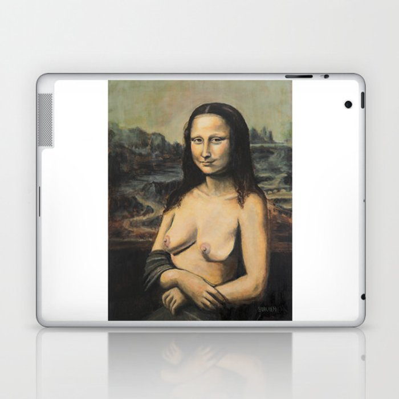 Moaner Lisa Laptop & iPad Skin