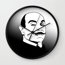 Hercules Poirot. Wall Clock
