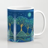 once upon a  time Mugs featuring Once upon a time... by Viviana Gonzalez