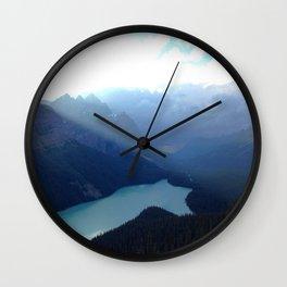 Paradise on Earth Wall Clock