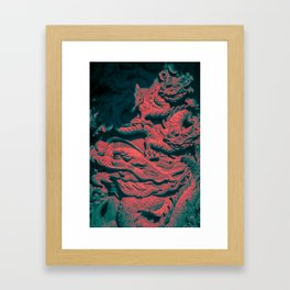 Red Dragon Framed Art Print