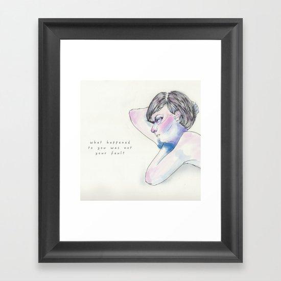 6/22 Framed Art Print