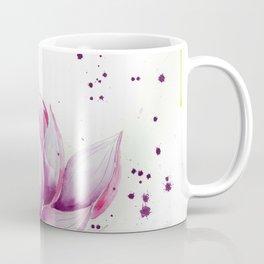 Moon with Lotus Coffee Mug