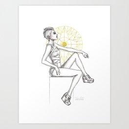 CL Shoes 09 Art Print