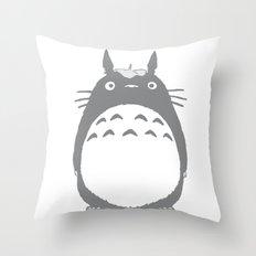 t0t0r0 Throw Pillow