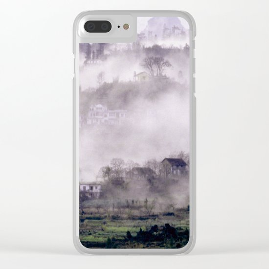 FOGGY FOREST in the VIETNAMESE MOUNTAIN Clear iPhone Case