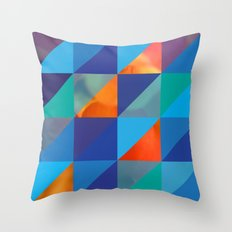 Triangles 4 Throw Pillow
