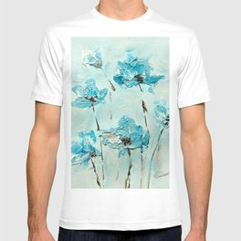 Flowers (in acrylic paint) T-shirt