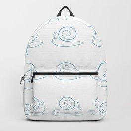 Blue Snails Backpack