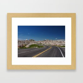 where will the road take you Framed Art Print