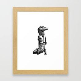 Investigator Framed Art Print