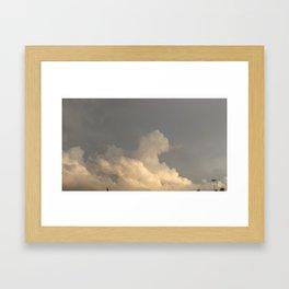 Oklahoma Sky 2 Framed Art Print