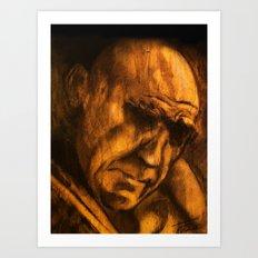 on wood Art Print