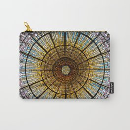 Barcelona glass window stained glass Carry-All Pouch