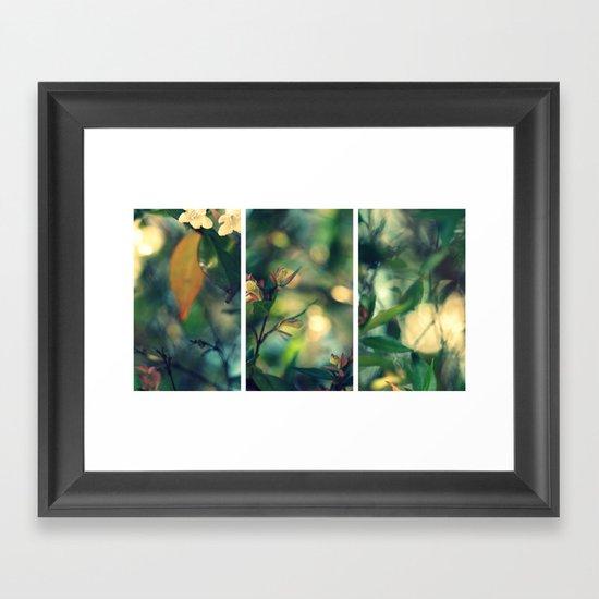 Daydream Believer - Triptych Framed Art Print