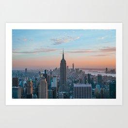Empire State Building IV Art Print