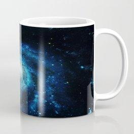 Spiral gAlaxy. Teal Ocean Blue Coffee Mug