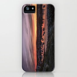 Last Rockport Sunset of Summer iPhone Case