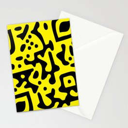 QR Clothes Yellow - Accessories Stationery Cards