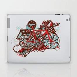 FIX TRIP ~ GREY Laptop & iPad Skin