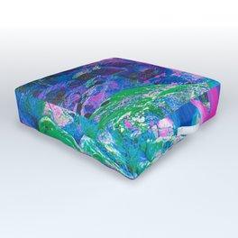 Psychedelic Falls Outdoor Floor Cushion