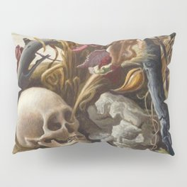 1940 Classical Masterpiece 'After Many Days' by Thomas Hart Benton Pillow Sham