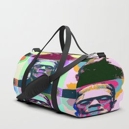 Frankenstein Pop Art Duffle Bag