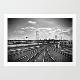 Rail Roads Art Print