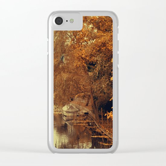 Autumn scenery #4 Clear iPhone Case