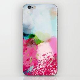 pink landscape iPhone Skin