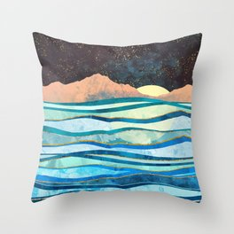 Celestial Sea Throw Pillow