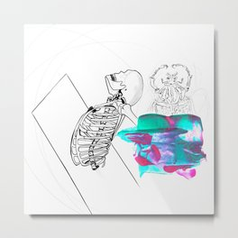 Anatomy Of Difference Metal Print