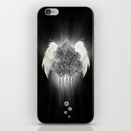 Angel of the chaos iPhone Skin