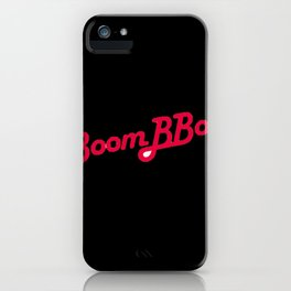Bboom bboom iPhone Case