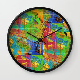 Futter Mein Ego (Feed My Ego) Wall Clock