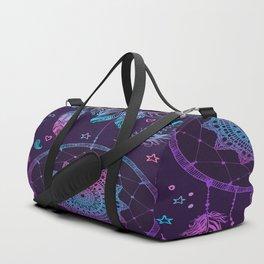 Ultra Violet Dreams, Dream Catcher Enchantment Duffle Bag