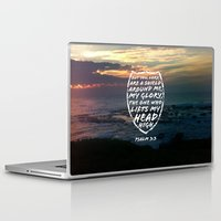 shield Laptop & iPad Skins featuring SHIELD by Pocket Fuel