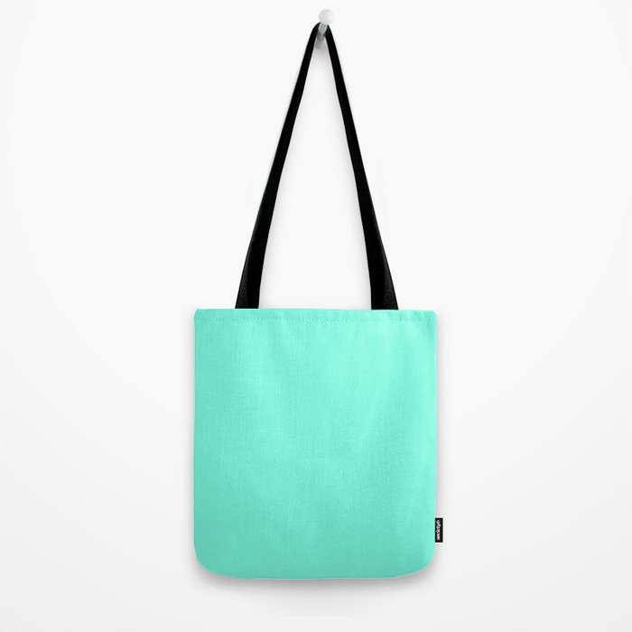 Green Mint Tote Bag