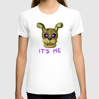 fnaf T-shirts featuring FNAF Springtrap by Bloo McDoodle