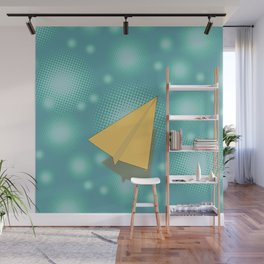 Paper Airplane 117 Wall Mural