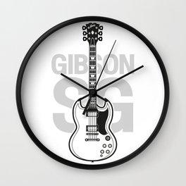 Gibson SG Wall Clock