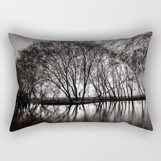 black art Rectangular Pillow