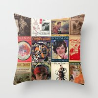 pulp Throw Pillows featuring pulp by Jeni Decker