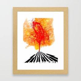 That's What Keys Said Framed Art Print