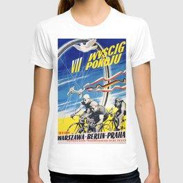 Vintage Polish Road Race Poster T-shirt
